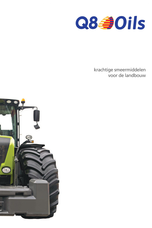 Krachtige smeermiddelen voor de landbouw